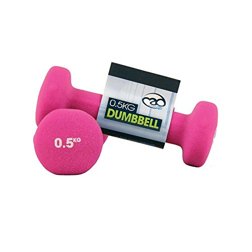 Fitness Mad Neo Dumbbells (Pack of 2), Pink, 0.5Kg
