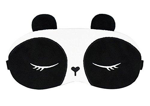 Sleep Panda Design Masque pour les yeux en peluche pour hommes et femmes et enfants