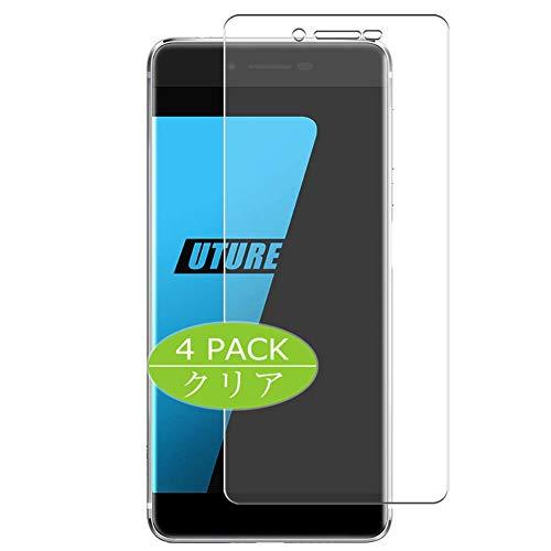 Vaxson 4 Stück Schutzfolie kompatibel mit Ulefone Future, Bildschirmschutzfolie Displayschutz Blasenfreies TPU Folie [Nicht Panzerglas]