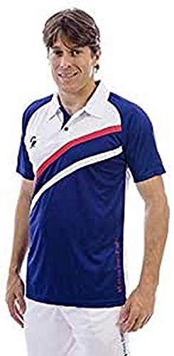 Softee T-Shirts pour Homme XL Marino Blanco Rojo.