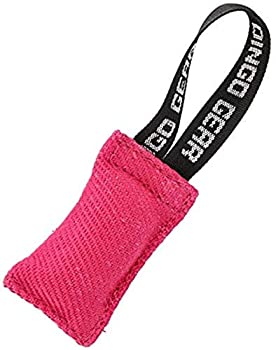 Dingo Gear K9 IGP IPO Obiedence Boudin de dentition en coton et nylon pour dressage de chien (10 x 5 cm, Mini, rose)