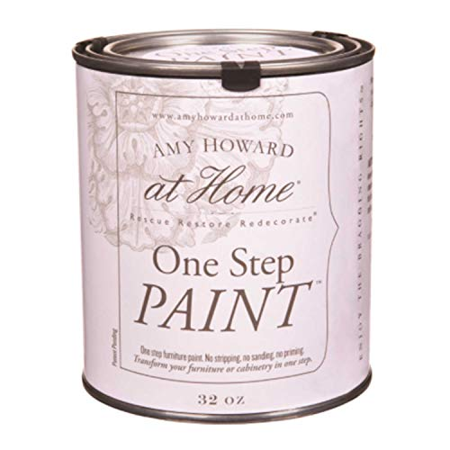 Amy Howard Home | One-Step Paint | Luxe Grey | Chalk Finish Paint | Zero VOCs | Eco-Friendly | No Stripping, Sanding or Priming | Multi-Surface Furniture & Cabinet Paint