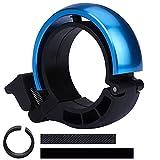 QIMEI-SHOP Timbre para Bicicleta de Aleación de Aluminio Campana de Anillo de Bici con Sonido Nítido para Bicicleta de Montaña de Carretera con Manillar de 24-30 mm