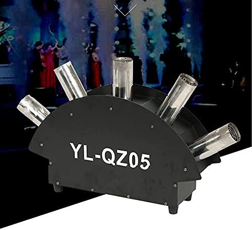 LSZ Fog Machine 5 Nozzles Air Column Mist Machine Fog Machine Professional Smoke Machine for Parties Stage Show Fog Machine