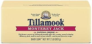 Tillamook Cheese 2lb Baby Loaf (Choose Flavor Below) (Monterey Jack)