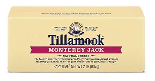 Tillamook Cheese 2lb Baby Loaf (Choose Flavor Below) (Monterey Jack)