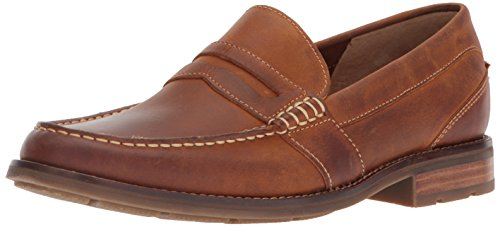 Sperry Mens Essex Penny Loafer, Tan, 10