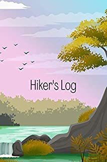 Hiker's Log: keep track of hiking stats and record the best trails | Gift idea for keen walkers, trekkers and hikers