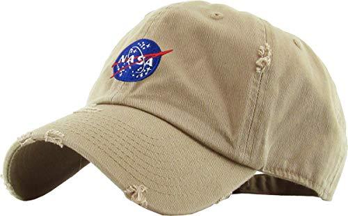 KBSV-042 WHT Alien Vintage Dad Hat Baseball Cap Polo Style Adjustable