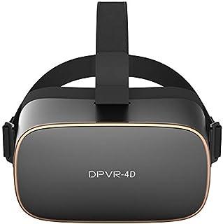 [L.A.B] スタンドアローン型VRヘッドマウント DPVR-4D 艶消しブラック