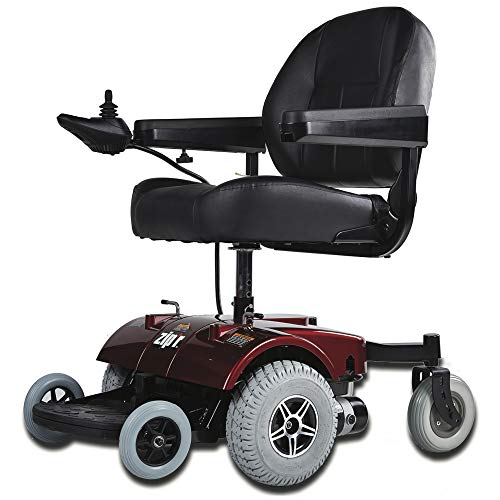 Zip'r PC Electric Wheelchair - Full Size Long Range Motorized Wheelchair - Electric Wheelchairs for Travel, Adults, Seniors, Elderly - Heavy Duty Electric Power Wheelchair - Extended Battery Life -