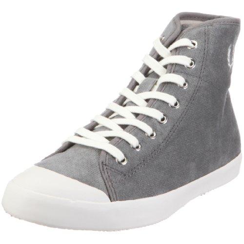 Fred Perry B6110W PHOENIX MID TOE CAP VELVET Damen Sneaker, Grau (MID GREY), EU 36, (UK 3.5)