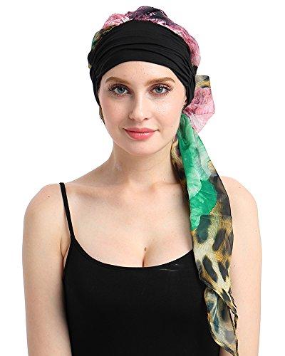 FocusCare la chemio Cappello Turbante Testa Sciarpe Pre - Legato Copricapo Bandana per Cancro