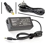 Vuohoeg 65w cargador para portatil acer, adaptador cargador nuevo y compatible para portátiles acer aspire/travelmate/extensa series de 19v 3,42a o menos, notebook eur power supply 5. 5 * 1. 7mm