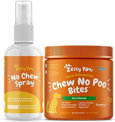 Zesty Paws Chew No Poo Bites In stock Ranking TOP15 Deterren Eating Stool Coprophagia -