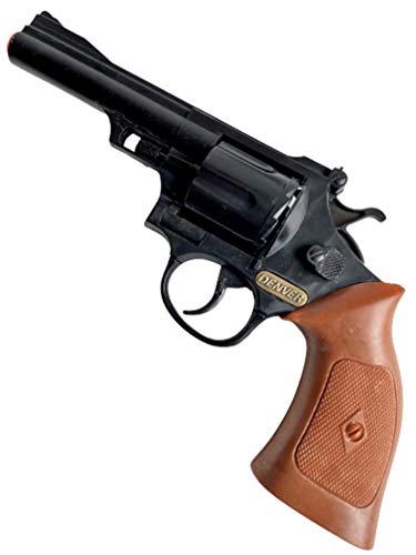 Sohni Wicke Action Revolver Denver Westernrevolver Revolver Wilder Westen Cowboy Agent Polizei Spielzeugrevolver 12 Schuss Pistole