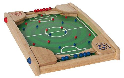 Flip Kick Classic, 50 cm, Pinball y Kicker Mix, el Juego Habilidades de fútbol para 2 Jugadores de Todas Las Edades