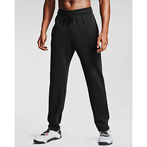 Under Armour Men's Rival Fleece Pants , Black...
