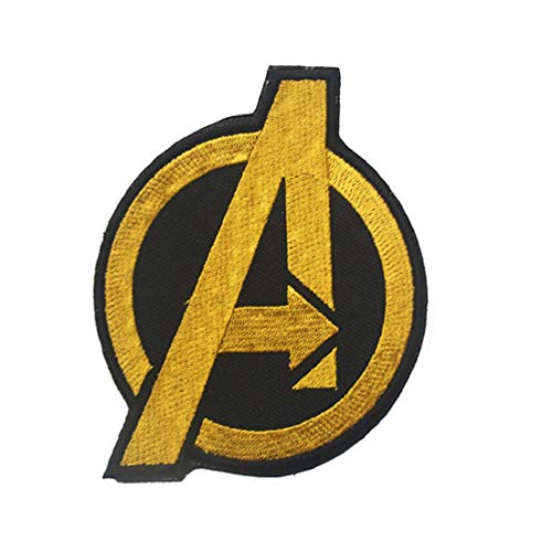 1 parche bordado de Marvel Avengers Agents of Shield Comman (amarillo)