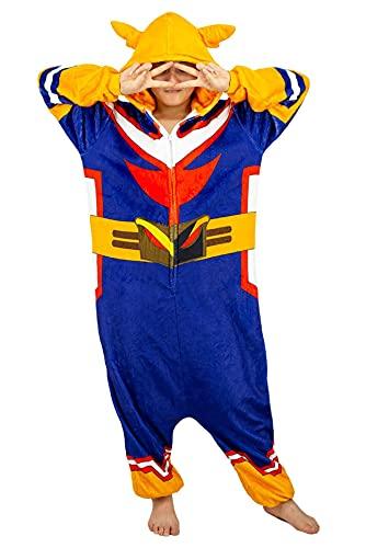 My Hero Academia All Might Pijama de terciopelo para cosplay All Might Mono Ropa de Dormir
