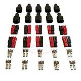 Conector de batería 45A Conexión rápida Batería Powerpole Conectores de alimentación modulares Desconexión rápida 10 pares