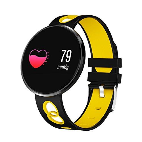 Bluelover Cf006H Kleurenscherm, hartslagmeter, bloeddrukmeter, IP67 waterdicht, smart sportarmband