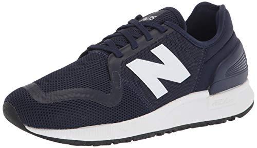 New Balance Tênis masculino 247 V3, Pigment/Munsell White, 7.5