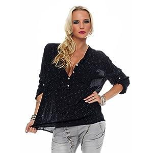 ZARMEXX bella camicia a maniche lunghe Fisher regular fit leggera a maniche lunghe camicetta di estate tunica tenera… | DeHippies.com