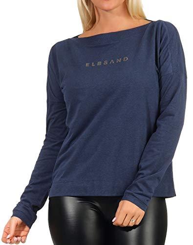 Elbsand ES_Soley_ 001Y_ OB01 T-Shirt Langar, blau(Coldwater), Gr. XL