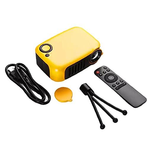 Dispositivo en pantalla Mini Proyector con altavoz incorporado Portátil Portátil Portátil Portátil de Video Proyector de video
