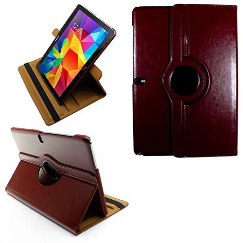 COOVY® 2.0 Cover für Samsung Galaxy Note PRO 12.2 SM-P900 SM-P901 SM-P905 Rotation 360° Smart Hülle Tasche Etui Hülle Schutz Ständer | braun