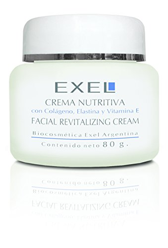 Exel - Crema Nutritiva con Colágeno, Elastina y Vitamina E, 80g (200)