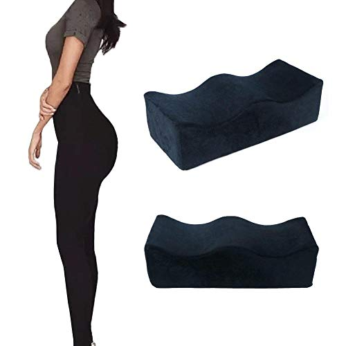 N/G Seat Cushion Pillow Comfort Memory Foam Pad Hip Support Cushion - Hip Pain Relief - Contoured Posture Corrector, Hip Cushion BBL Special Cushion After Surgery