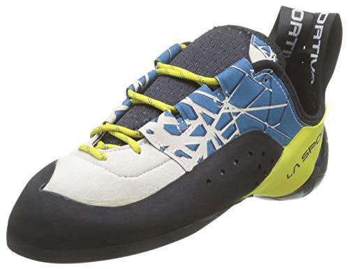 La Sportiva Kataki, Zapatos de Escalada Hombre, Multicolor (Ocean/Sulphur 000), 43 EU