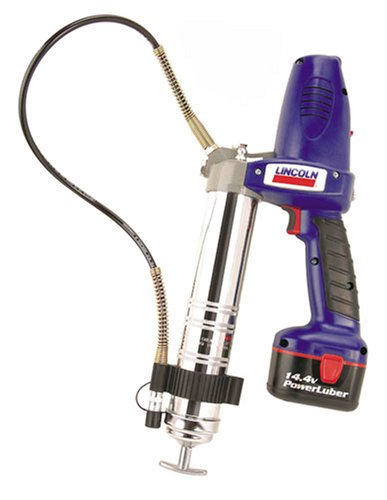 Lincoln 1444 Power Luber Model with Case and 2 Batteries, 14.4 V