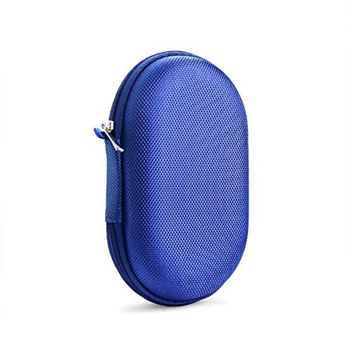 Maus Taschen Gaming Wireless Mouse-Fall-bewegliche Tragetasche Schutztasche Abdeckung for Logitech MX Anywhere-2S-Maus-Speicher-Beutel (Color : Blue)