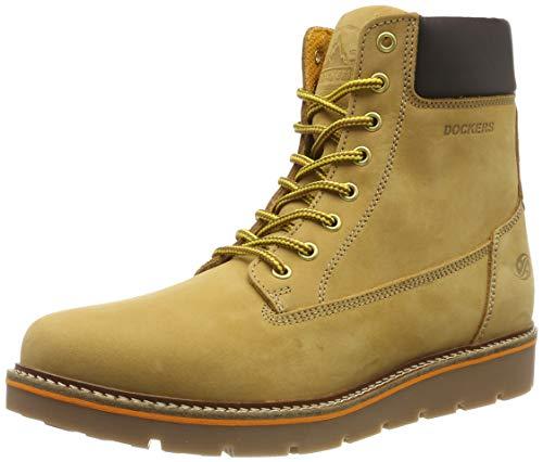 Dockers by Gerli Women's Combat Boots, Yellow Gelb 900, 8.5