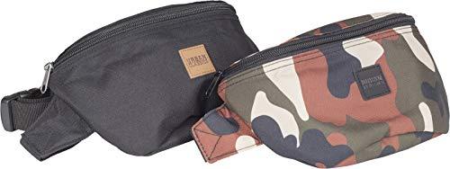 Urban Classics Urban Classics Urban Classics Hip Bag 2-Pack TB2255 Streetwear Cinta