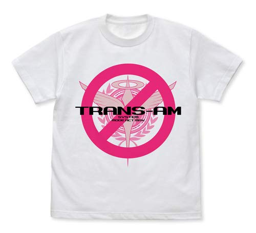 機動戦士ガンダム00 トランザムは使うなよ!Tシャツ ホワイト Lサイズ