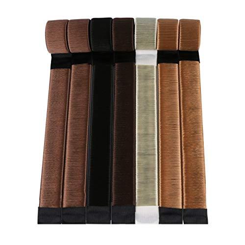 Original Dutt Maker Hilfe - Haarstyling Set für kurze und lange Haare - Haarknoten Socke für Frauen und Mädchen - 3x Stück (blond, braun, hellbraun)