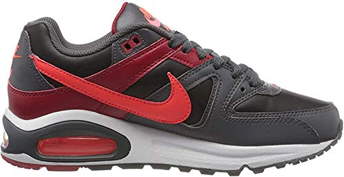 Nike Herren Air Max Command Traillaufschuhe, Mehrfarbig (Black/Bright Crimson-Dark Grey-Gym Red 051), 47 EU