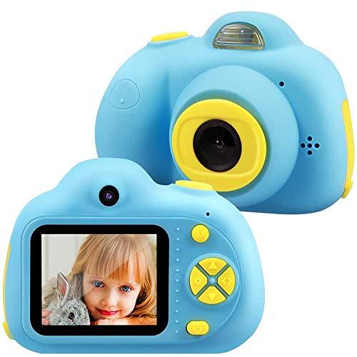 TekHome Cámara de Fotos para Niños con 32GB Tarjeta SD y Acollador, 2 Objetivos Selfie 8MP Cámara Digital 1080P HD Video, Juguetes Niño 3-10 Años, Regalo Niño Cumpleaños Infantil, Rosa.