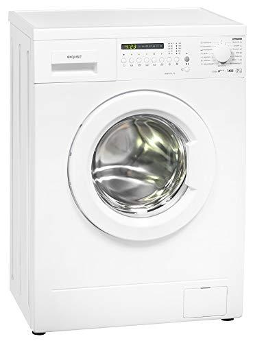 Exquisit Waschmaschine WM 7314-10 | Frontlader |7 kg Fassungsvermögen |weiß