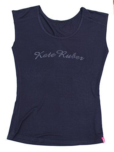 Kate Ruber (ケイトルーバー) ヨガTシャツ ネイビーLL-3L