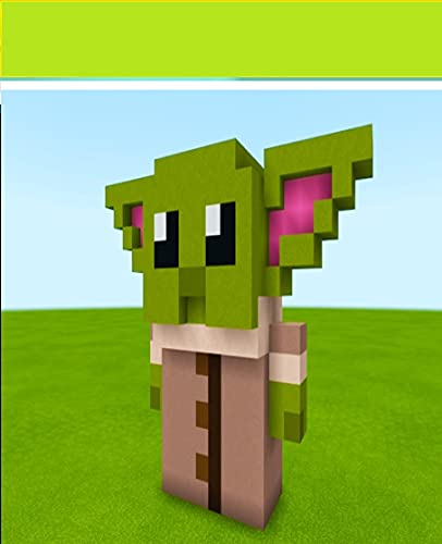 Minecraft- How To Make a Baby Yoda Statue \'Starrr Warsz\': A comic Book Complete Kid Series, Funny Graphic Novel Great Comics For Children. (English Edition)