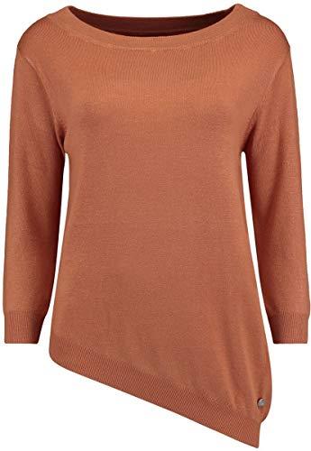 Hailys Carol Frauen Sweatshirt braun L 80% Viskose, 20% Nylon Basics, Streetwear
