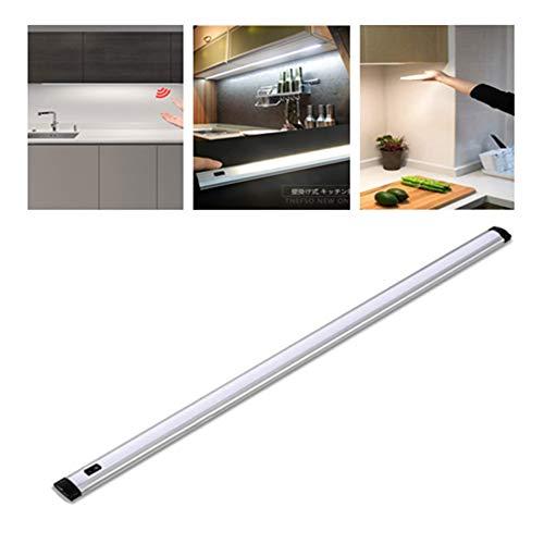 Lexu LED キッチン用ライト 手元灯 バーライト キッチン 流し元灯 タッチレススイッチ センサーライト スリムライト 壁掛け式 キッチン照明 手を振ることで操作でき 多目的灯 (昼白色, 非調光(35CM))