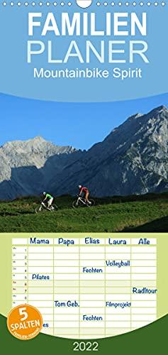 Mountainbike Spirit (Wandkalender 2022, 21 cm x 45 cm, hoch)