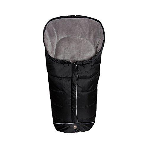 babycab Winterfußsack K2 für Kinderwagen - wind- & wasserabweißender Fußsack für warme Spazierfahrten - mit Reflektoren & Coralfleece-Futter