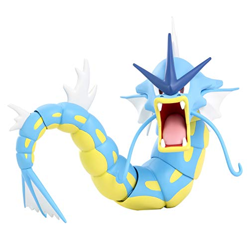 Pokemon Gyarados 12-Inch Epic Battle Figure - Authentic Details, Fully Articulated Figure Toys Inspired by Smash-Hit Animated Series - Gotta Catch